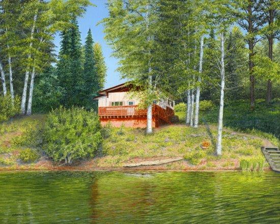 Ness Lake Cabin